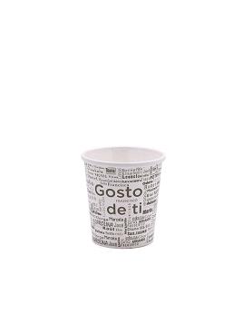 """COPO CAFÉ """"GOSTO DE TI"""" 4OZ / 12CL CARTÃO / PAPEL"""