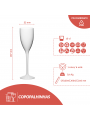 COPO FLUTE / CHAMPANHE / ESPUMANTE 10CL PC