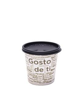 """COPO CAFÉ """"GOSTO DE TI"""" 4OZ / 12CL CARTÃO / PAPEL COM TAMPA"""