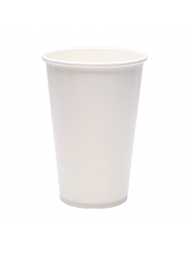 "COPO BRANCO PAPEL ""COLD DRINK"" 12OZ / 350ML"
