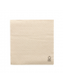 GUARDANAPOS ECOLABEL 1 FOLHA 23G/M2 33x33 CM NATURAL TISSUE RECICLADO
