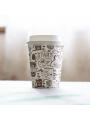 """COPO CAFÉ """"START YOUR DAY"""" 6OZ / 17.5CL CARTÃO / PAPEL"""