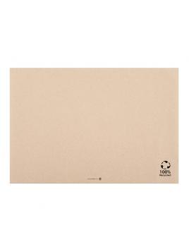 TOALHETES DE MESA RECICLADOS 31x43 CM NATURAL PAPEL