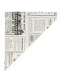 CONES DE PAPEL 'TIMES' 100 G 70 G/M2 24x17 CM BRANCO PERG.ANTI-GORDURA