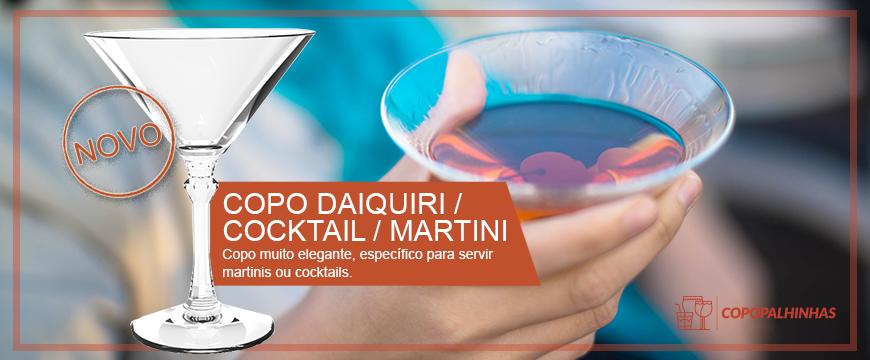 COPO DAIQUIRI / COCKTAIL / MARTINI 20CL PC