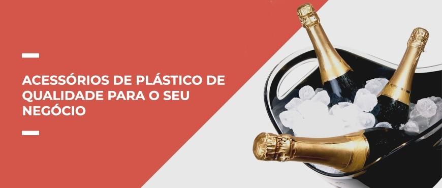 Acessórios de plástico de qualidade para o seu negócio